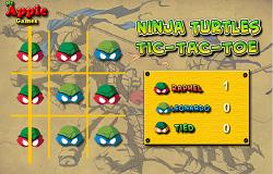 X si 0 cu Testoasele Ninja
