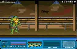 Lupte cu Testoasele Ninja