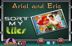 Puzzle cu Ariel si Eric