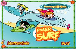 Surf cu Fetitele Powerpuff