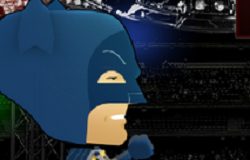 Box cu Batman