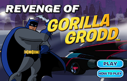 Batman Vs Gorilla Grodd