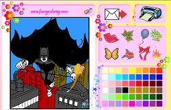 Picteaza cu Batman