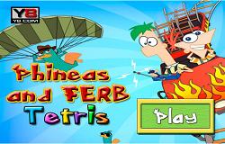 Phineas si Ferb Tetris