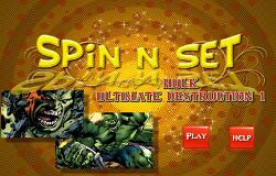 Puzzle cu Hulk