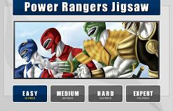 Puzzle cu Power Rangers