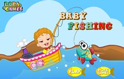 Copilul la Pescuit