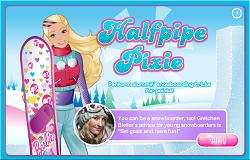 Barbie cu Snowboardul