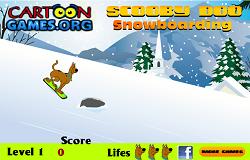 Scooby Doo cu Snowboardul