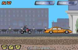 Motociclete in Oras