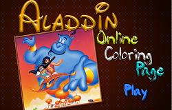 Aladdin de Colorat