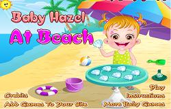 Bebelus la Plaja
