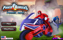 Motocicletele Power Rangers