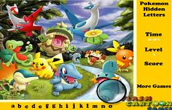 Pokemon Litere Ascunse