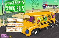 Spongebob cu Autobuzul Scolar