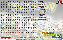 Pokemon - Gaseste Cuvintele