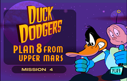 Duck Dodgers in Spatiu