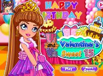 Valentina la 15 Ani