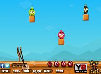 Vanatoarea Angry Birds