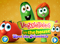 Veggie Tales Numere Ascunse