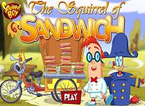 Veverita si Sandwichurile