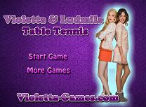 Violeta si Ludmila Ping Pong
