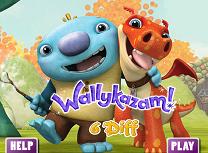Wallykazam Diferente