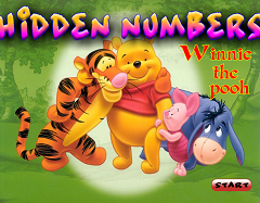 Winnie Pooh - Numere Ascunse