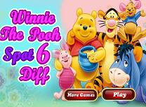 Winnie The Pooh 6 Diferente