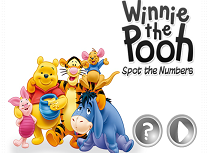 Winnie The Pooh Numere Ascunse