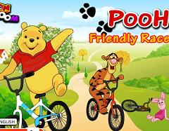 Winnie the Pooh cu Bicicleta