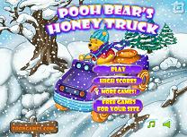 Winnie the Pooh cu Camionul