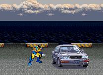 Wolverine Distruge Masinile