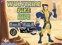 Wolverine cu Motocicleta