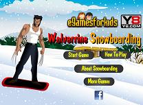 Wolverine cu Snowboardul
