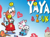 Jocuri cu Yaza si Zouk