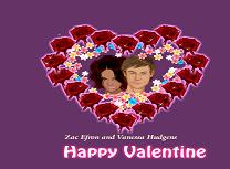 Zac Efron si Vanessa Hudgens de Ziua Indragostitilor