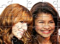 Zendaya si Bella Puzzle
