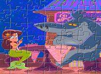 Zig si Sharko Puzzle