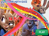 Zootopia Test la Matematica
