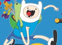 Adventure Time Carte de Colorat