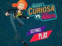 Agent Curiosa Roboti Dezlantuiti