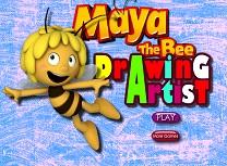 Jocuri cu Maya Albinuta