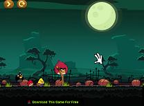 Angry Birds de Halloween