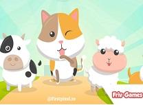 Animale Dragute Carte de Colorat