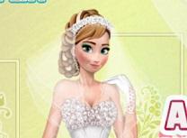 Anna Frozen Look de Nunta