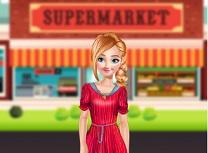 Anna Merge la Supermarket