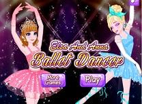 Elsa si Anna Dansatoare de Balet