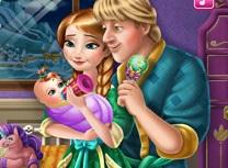 Anna si Kristoff Ingrijesc Bebelusul