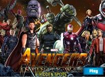 Avengers Infinity War Obiecte Ascunse